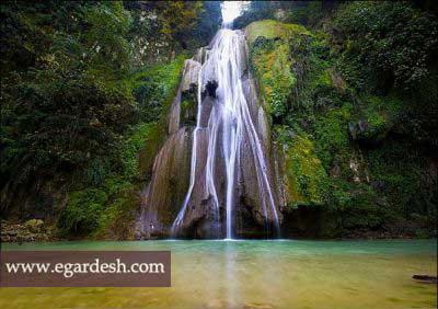 آبشاره لوه گرگان