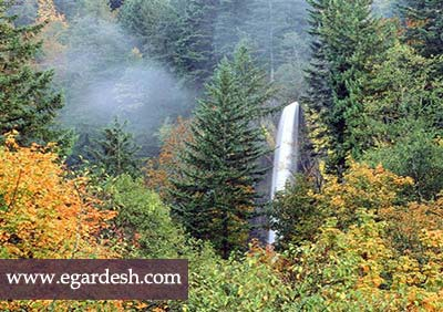 آبشار شاهان دشت آمل