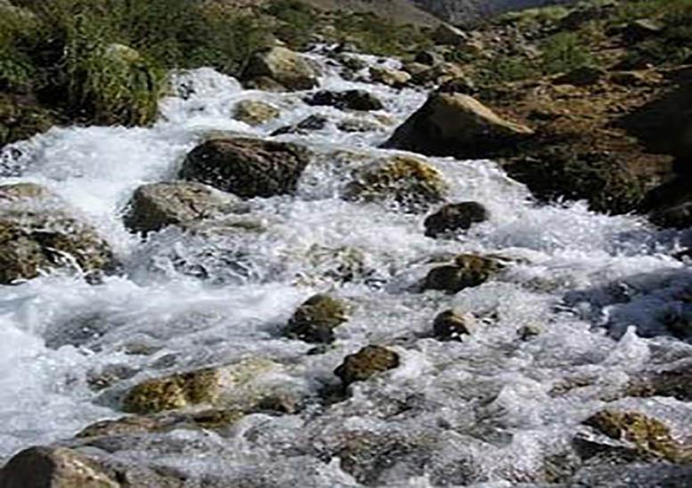 چشمه آب معدنی بغرا کرمان