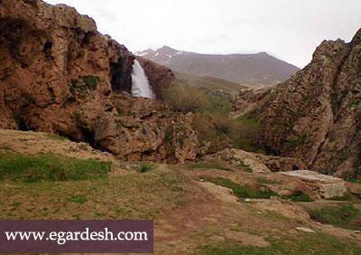 چشمه آب معدنی قینرجه رزن