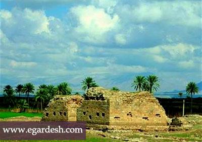 کاخ ساسانی قصر شیرین