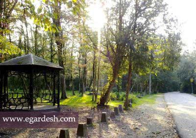پارک جنگلی سی سنگان نوشهر