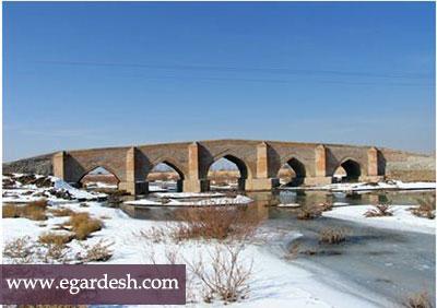 پل پنج چشمه بناب بناب