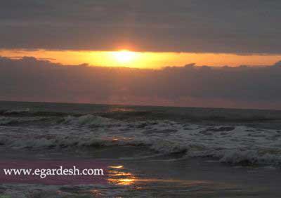 ساحل خزر آباد ساری