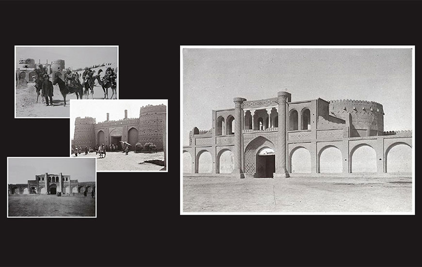 دروازه مسجد کرمان