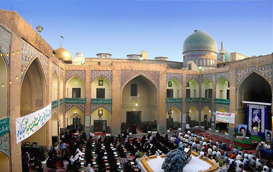 مدرسه دو در مشهد
