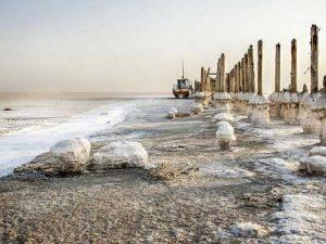 دریاچه های سوخته ایران