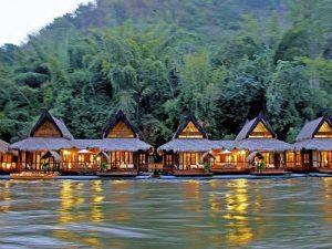 8 هتل روی آب