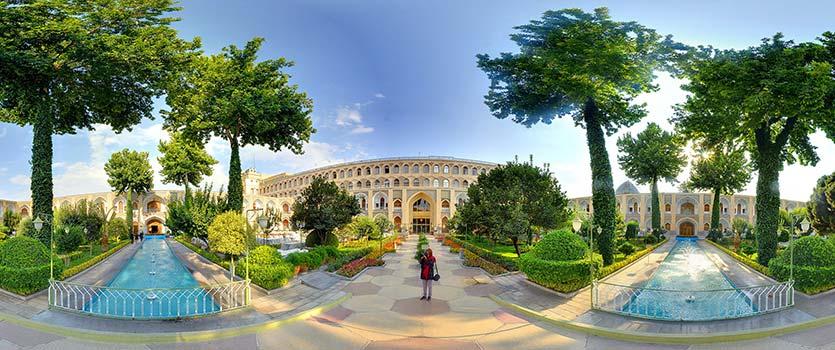 زیباترین هتل خاورمیانه در اصفهان