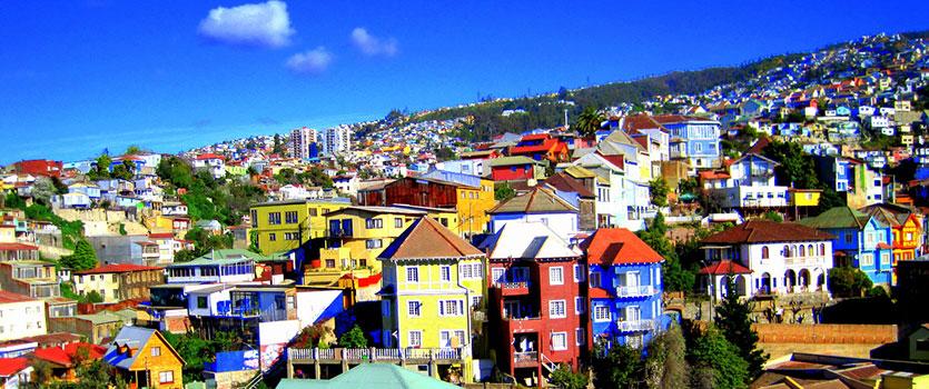 رنگی ترین شهر های جهان