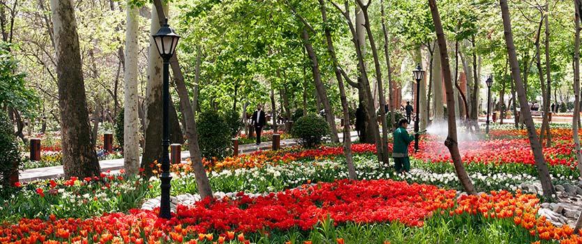 زیباترین بوستان های تهران