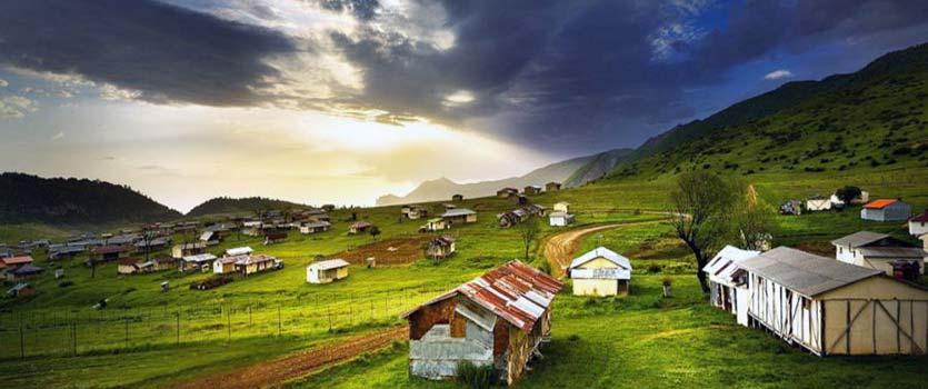 جهان نما بهشتی بر فراز ابرهای گلستان