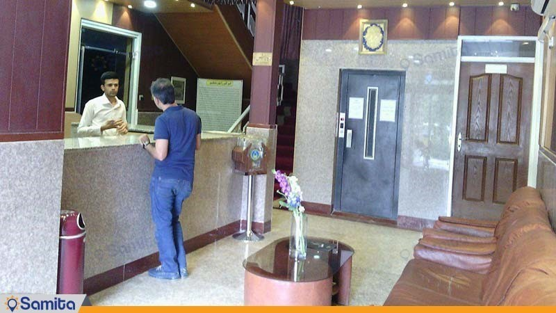 پذیرش هتل امیر کبیر آبادان