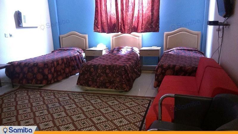 اتاق سه تخته هتل آزادی آبادان