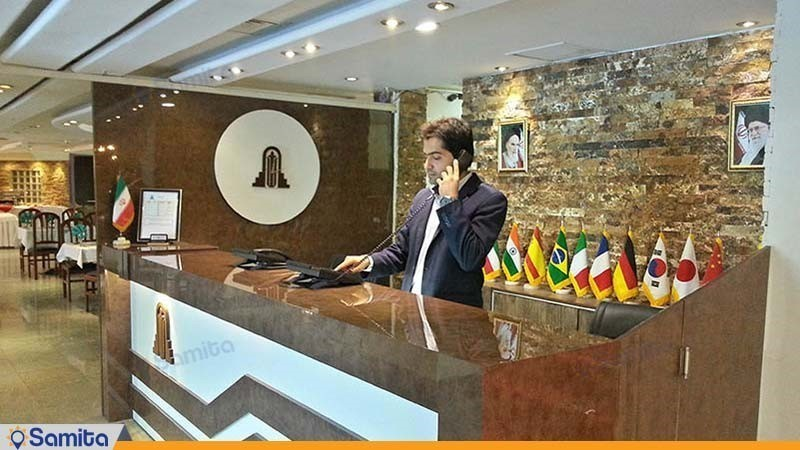 پذیرش هتل پارسیان آزادی آبادان