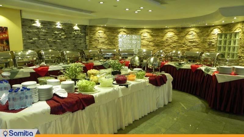رستوران هتل پارسیان آزادی آبادان