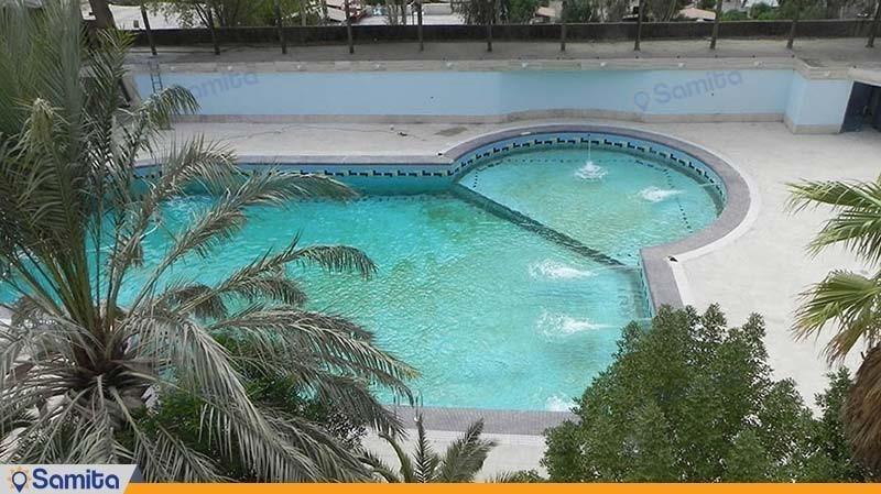 استخر روباز هتل پارسیان آزادی آبادان