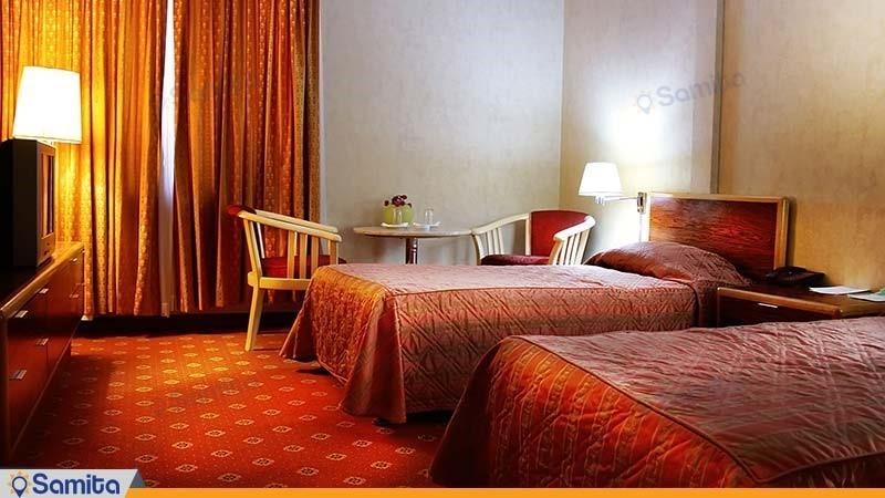 اتاق دو تخته هتل پارسیان آزادی آبادان