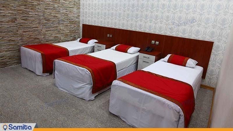 اتاق سه تخته هتل ایران اهواز