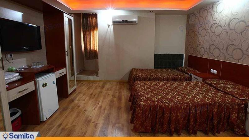 اتاق دو تخته هتل ایران اهواز