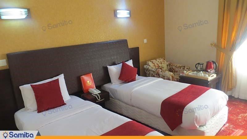 اتاق دو تخته ویژه هتل پارس اهواز