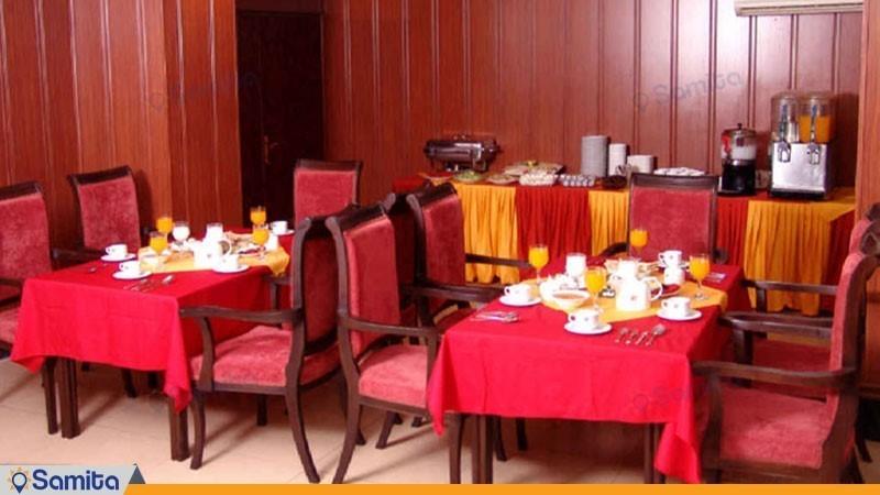 سالن صبحانه خوری هتل پرشیا اهواز