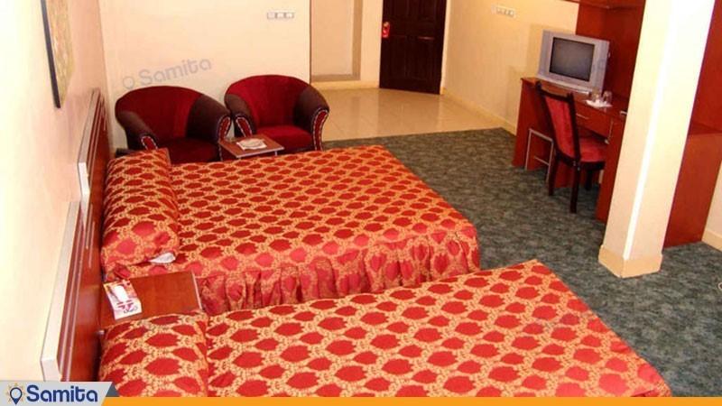 اتاق سه تخته هتل پرشیا اهواز