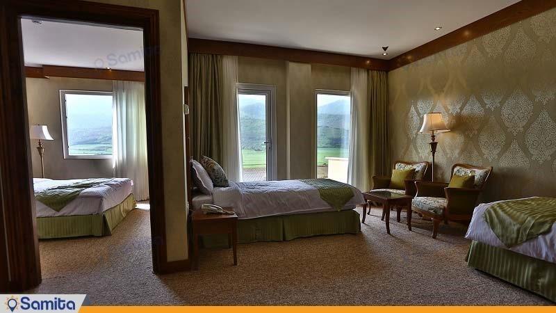 اتاق چهار تخته هتل کانیار