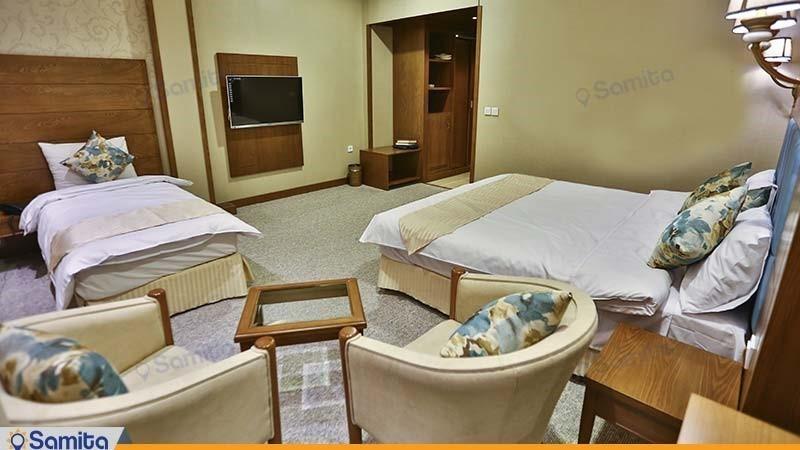 اتاق سه تخته هتل کانیار