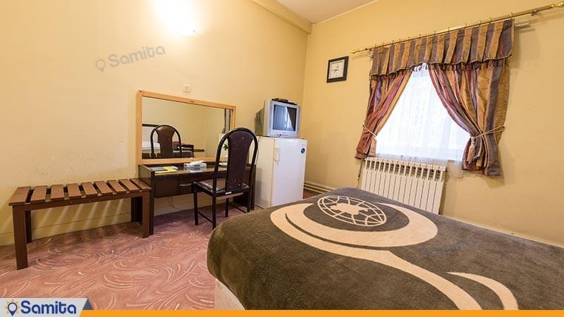 اتاق دو تخته مهمانسرای جهانگردی