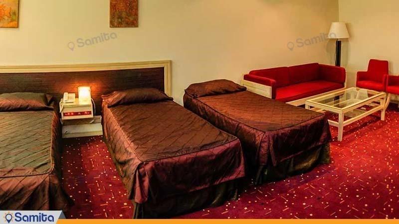 اتاق سه نفره هتل امیر کبیر اراک