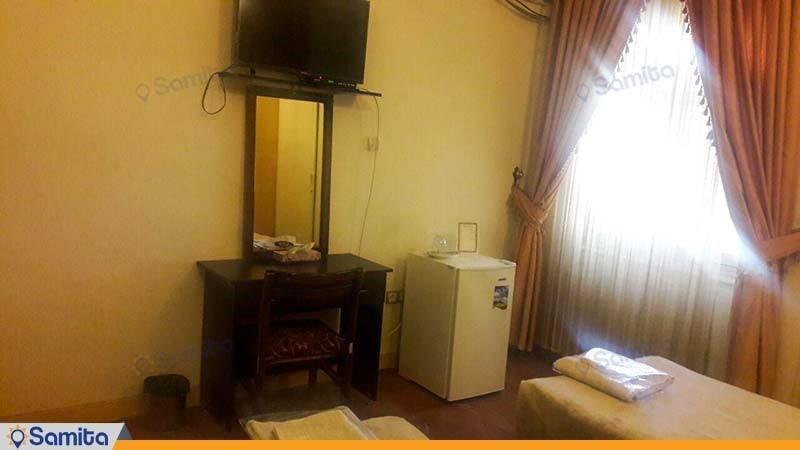 اتاق دو تخته مهمانسرای جهانگردی اردستان