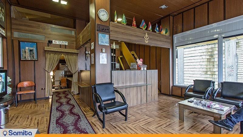 لابی هتل آپارتمان ایساتیس آستارا