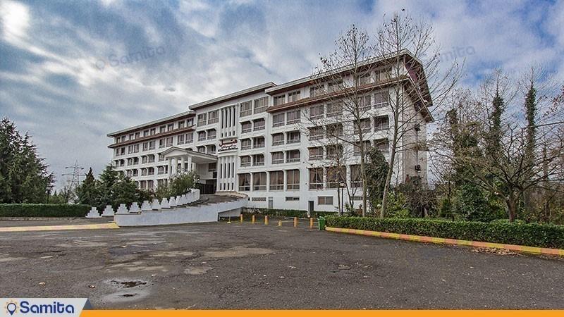 نمای ساختمان هتل اسپیناس آستارا