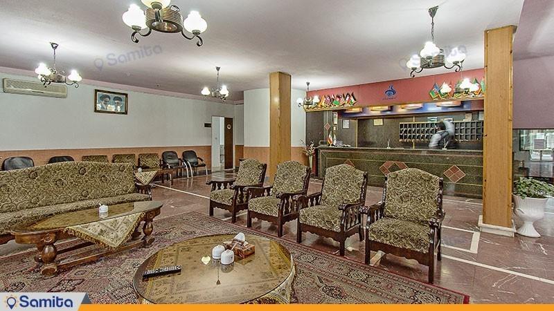 لابی هتل جهانگردی آستارا