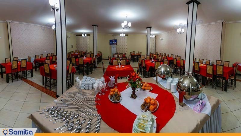 رستوران مهمانسرای جهانگردی بم