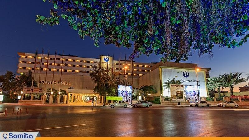 نمای ساختمان هتل بین المللی هرمز