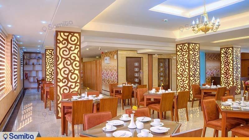 کافی شاپ و رستوران هتل ایران بندرعباس