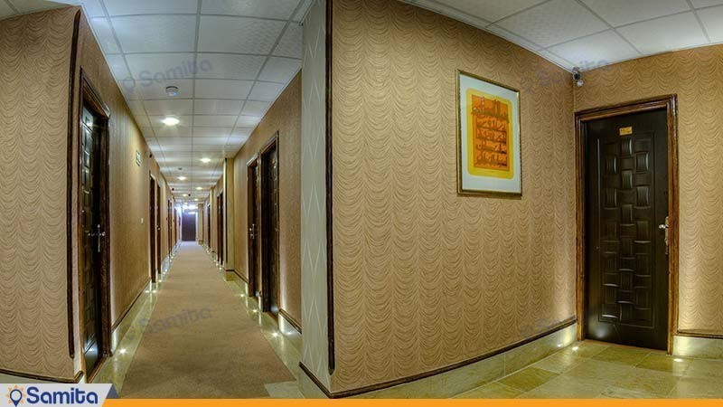 راهرو هتل ایران بندرعباس