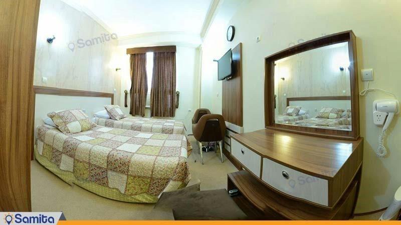 اتاق دو نفره هتل ایران بندرعباس