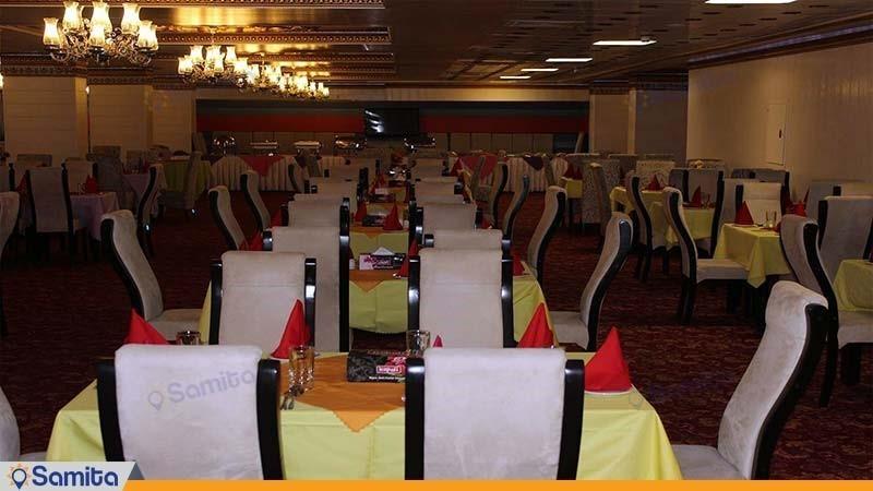 رستوران هتل بین المللی خلیج فارس بندرعباس