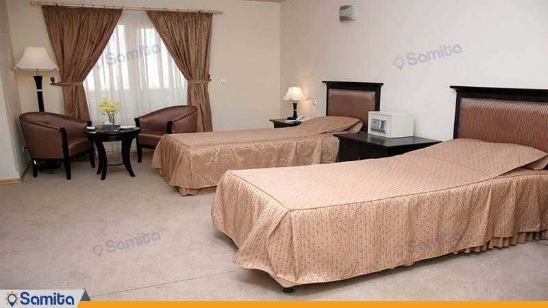 اتاق دو نفره هتل بین المللی خلیج فارس بندرعباس