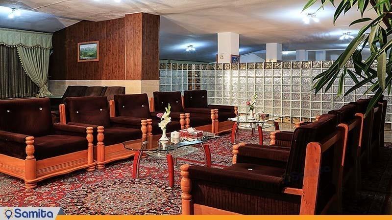 لابی هتل جهانگردی نمونه
