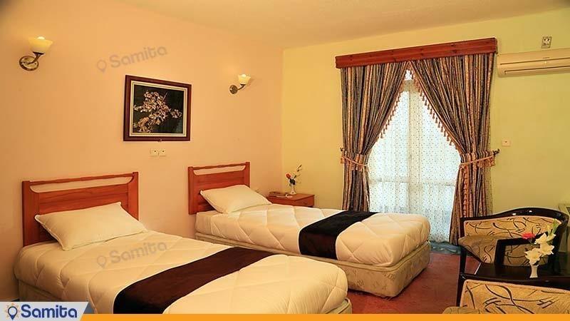 اتاق دوتخته هتل جهانگردی نمونه