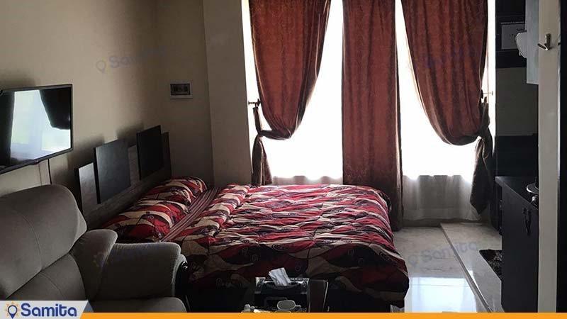 اتاق دبل رویال هتل آپارتمان المپیک بندر انزلی
