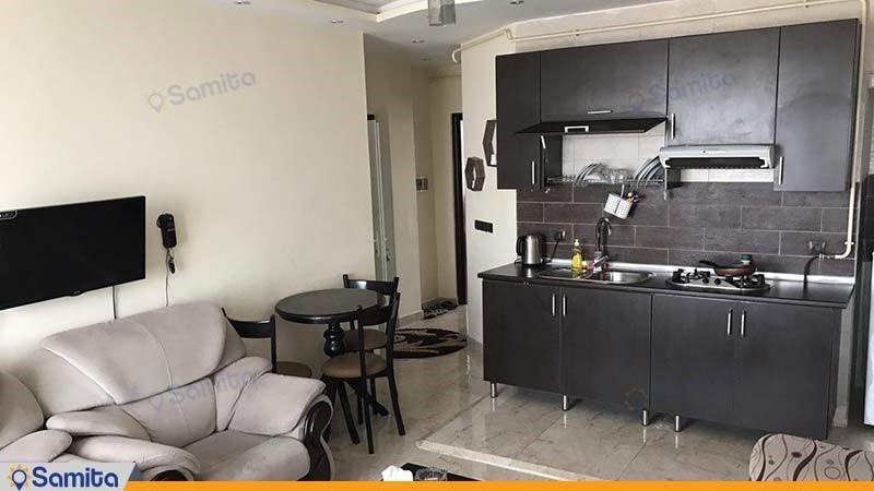 آپارتمان دو خوابه رویال هتل آپارتمان المپیک بندر انزلی