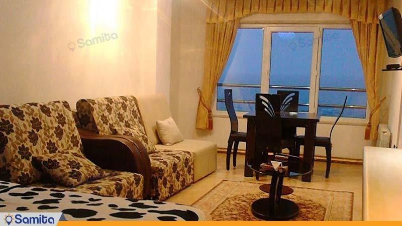 آپارتمان هفت نفره هتل آپارتمان سفیر بندر انزلی