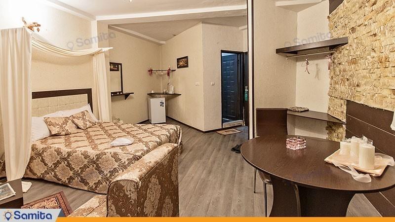 اتاق دو تخته پرنسس با نمای دریا هتل الماس بندر انزلی
