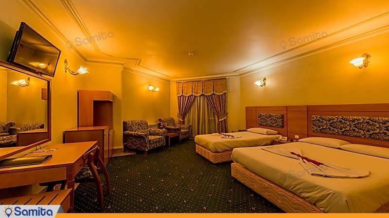 سوئیت سه تخته هتل جهانگردی بیرجند