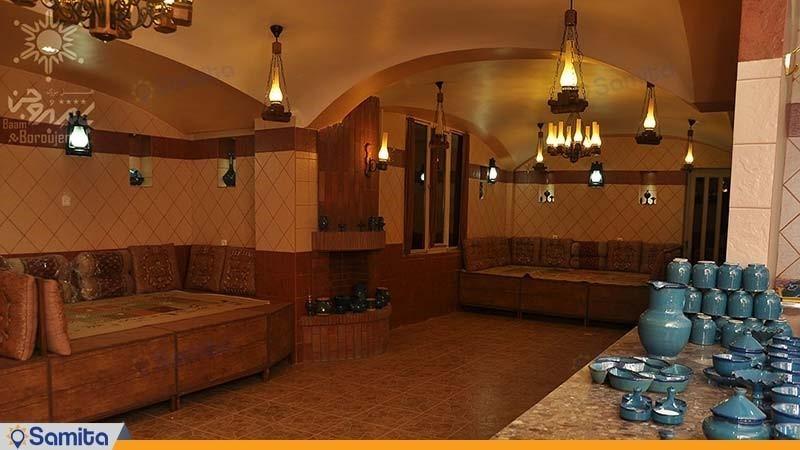 چایخانه و رستوران سنتی هتل بزرگ بام